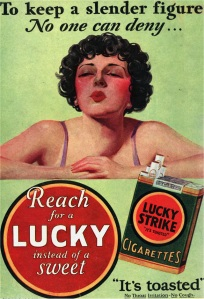 Controversial ad cigarets